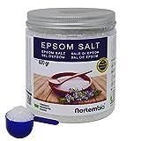 Sal de Epsom NortemBio 820g, Fuente concentrada de Magnesio, Sales 100% Naturales. Baño y Cuidado...
