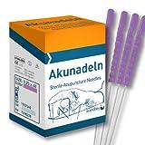 wandrey AKUNADELN lila 2540 Akupunkturnadeln, Kunststoffgriff, 0,25x40mm, 1502540, 100 St.