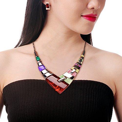 honeyjoy-mujer-fashion-splice-de-aleacion-de-resina-collar
