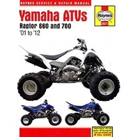 Reparaturanleitung - 702.51.12 - 2977 - Yamaha ATV Raptor 660/700
