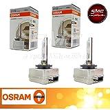 Paar Lampen Osram D1S 35W Xenarc 6614066140CLC pk32d-2