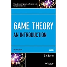 Game Theory: An Introduction by E. N. Barron (2013-04-22)