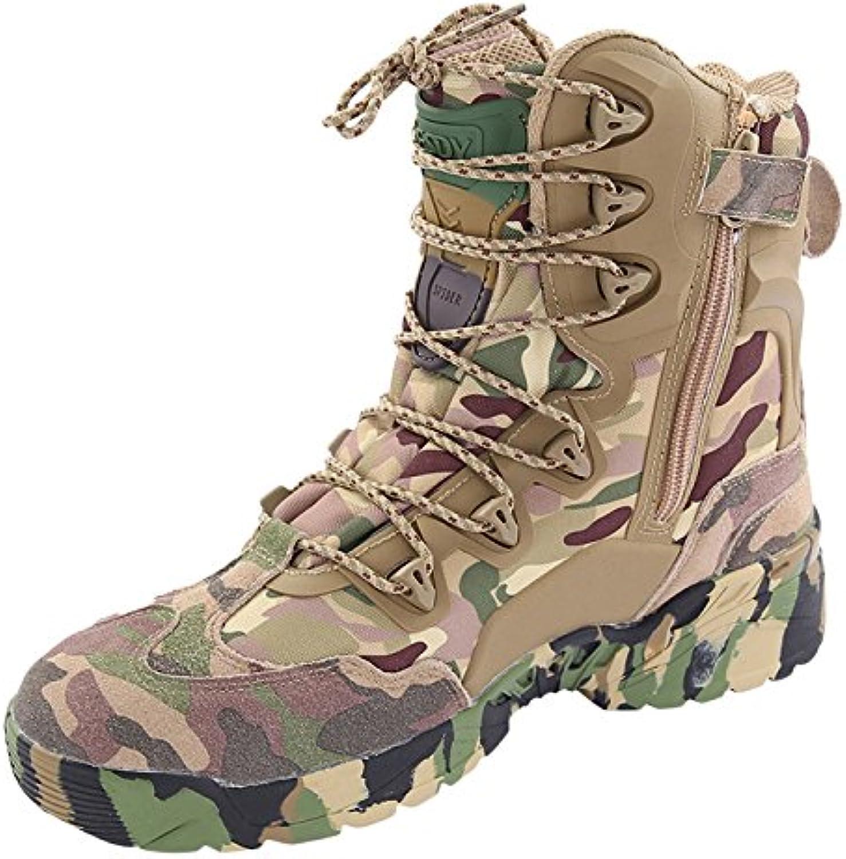 Mens High Rise Botas De Senderismo Explorer Sneakers Professional Desierto Al Aire Libre Tactical Boots Wild Travel...