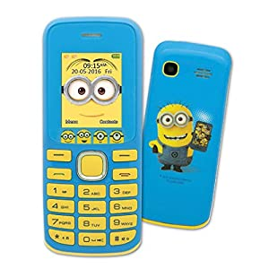 Lexibook - GSM20DES - Despicable Me Minions No Contract Dual Sim Mobile Phone