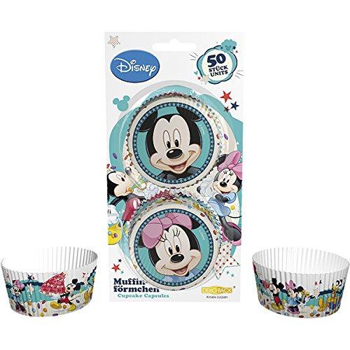 Dekoback 01-14-00783 Muffinförmchen Mickey und Minnie, 50 stück