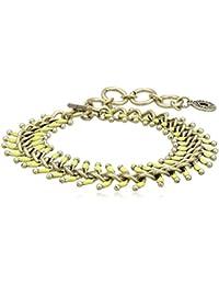 Pilgrim Jewelry Damen-Armband aus der Serie Spring bracelets vergoldet gelb 16.5 cm 291310062