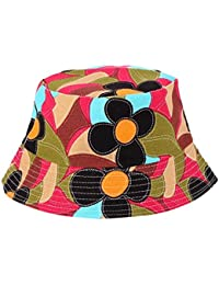45734135822 Bucket Hats Jamicy Women Men Fashion Flower Print Bucket Hats Casual Sports Hip  Hop Fisherman Hat