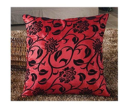 Federa Luxury Seta Miscela/poliestere colore: rosso, Deluxe fodera per (Deluxe Miscela)