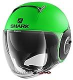 Shark Casque moto NANO STREET NEON MAT GKK, Vert fluo, M