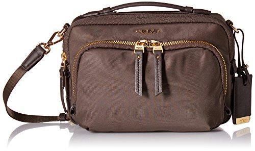 Tumi Voyageur - Luanda Flight Bag Bolso bandolera, 21 cm, 1.63 liters, Beige (Mink)