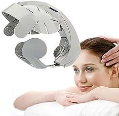 Skyfun Healthy Electric Head Massager Easy Brain Spa Scalp Relax Massager Stress, Fatigue, Pain Reducing Comforts Metabolism Muscle Massager