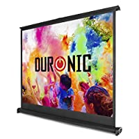 "Duronic DPS /43 Portable Desktop Duronic DPS50/43 Portable Desktop 50"" Projection Screen For 