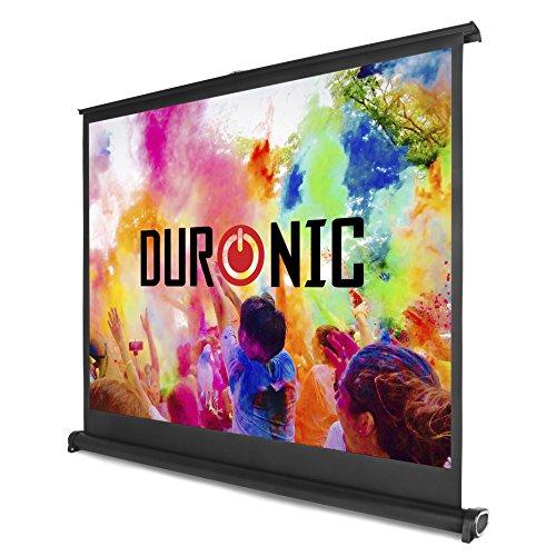 "Duronic DPS 50/ 43 Beamer Leinwand / 50\"" / 4:3 / Tragetasche / 102 x 76cm /4 K Full HD 3D/ Verstärkung 1.0 / Projektor Leinwand / Ideal für Heimkino, Büro, Präsentationen, Schulen, Events"