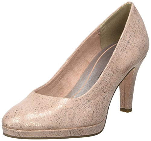 Marco Tozzi Damen 22404 Pumps, Pink (Rose Metallic), 37 EU