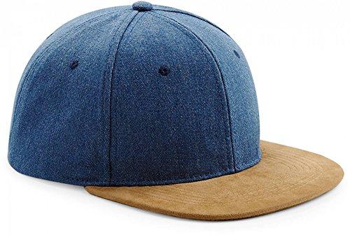 Preisvergleich Produktbild EQT-FASHION Damen Herren Retro Jeans Look Mütze kappe Snapback Panel Rap Rapper Cap