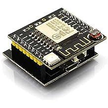 Für Arduino Kits Zubehör LDTR-WG0107 ESP8266 Serial ESP-12F Wi-Fi Witty Cloud Development Board - Schwarz
