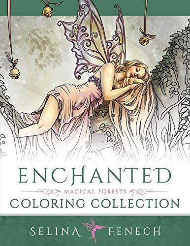 Enchanted - Magical Forests Coloring Collection (Fantasy Art Coloring by Selina, Band 3) (Home-design-spiele Für Erwachsene)