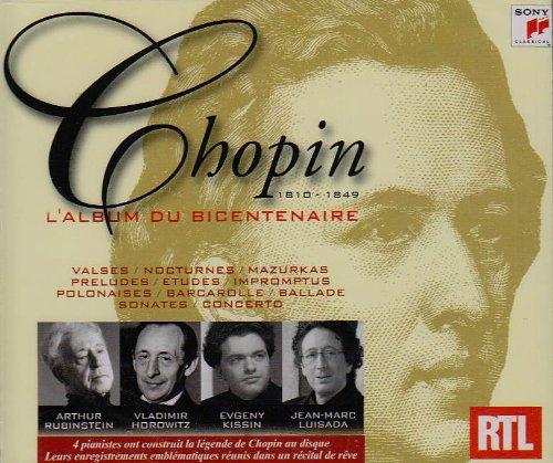 Preisvergleich Produktbild Frederic Chopin - L'album Du Bicentenaire