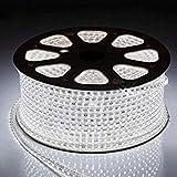 Grow More Enterprise Copper 120 LED/m Waterproof Strip Light Roll (White, 30 m)