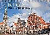 Riga - Metropole des Baltikums (Wandkalender 2018 DIN A4 quer): Lettlands Hauptstadt in einem imposanten Porträt. (Monatskalender, 14 Seiten ) (CALVENDO Orte) [Kalender] [Mar 28, 2017] Scherf, Dietmar