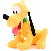 Msfi Soft Plush Imported Fabric Stuffed Dog Animal Toy in Yellow Color Size 30 cm in Gift for Your Kids Birthday