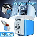 #10: Mini Refrigerator Portable Fridge 12V 6L Auto Mini Car Travel Fridge ABS Multi-Function Freezer Warmer & Cooling