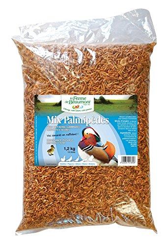 FERME DE BEAUMONT Mix Spécial Palmipèdes 10 litres 1,2 kg - mélange déshydraté canards