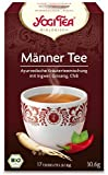 Image of Yogi Tee, Männer-Tee Ayurvedische Teemischung, Biotee, Zutaten aus kontrolliert ökologischem Anbau, 17 Teebeutel, 30,6g