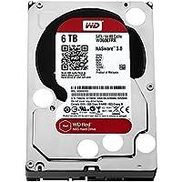 WD Red 6TB interne Festplatte SATA 6Gb/s 64MB interner Speicher (Cache) 8,9 cm 3,5 Zoll 24x7 5400Rpm optimiert für SOHO NAS Systeme 1-8 Bay HDD Bulk WD60EFRX