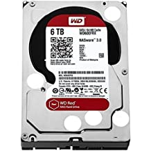 "WD Red WD60EFRX - Disco duro para dispositivos NAS de sobremesa (6 TB, Intellipower, SATA 6 GB/s, 64 MB de caché, 3.5"")"