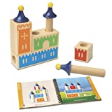 Smart Games Castle Logix Wooden, Game Ingenio with Challenges Progresivos (SG010)