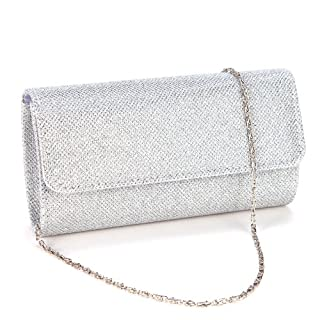 Anladia Ladies Evening Party Small Clutch Bag Bridal Purse Handbag Shoulder Bag