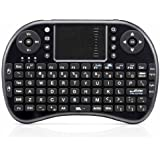 Usb 2.4ghz Inalámbrica Mini Touchpad Teclado Handheld Para La Caja De Pc Tv Sony Ps3 Xbox