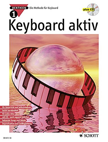 Keyboard aktiv, m. Audio-CDs, Bd.1, Mit Audio-CD