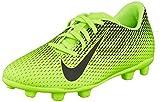 Nike Jr Bravata II FG, Chaussures de Football Mixte Enfant, Vert Black/Electric Green 303, 38 EU