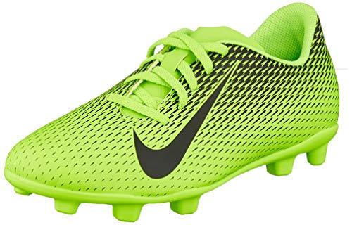 Nike Unisex-Kinder Jr Bravata Ii Fg Fußballschuhe, Grün Black/Electric Green 303, 36 EU