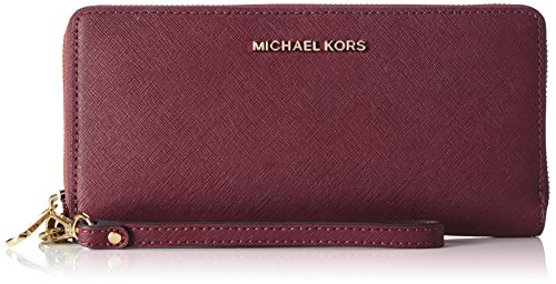 Michael-Kors-Damen-Jet-Set-Travel-Geldbrse-19x102x21-cm