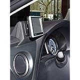 KUDA Navigationskonsole (LHD) für Toyota Auris ab 2013 in Kunstleder schwarz