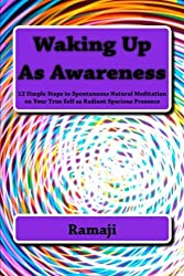 Waking Up As Awareness: 12 Simple Steps to Spontaneous Natural Meditation on Your True Self as Radiant Spacious Presence by Ramaji (2013-07-30)