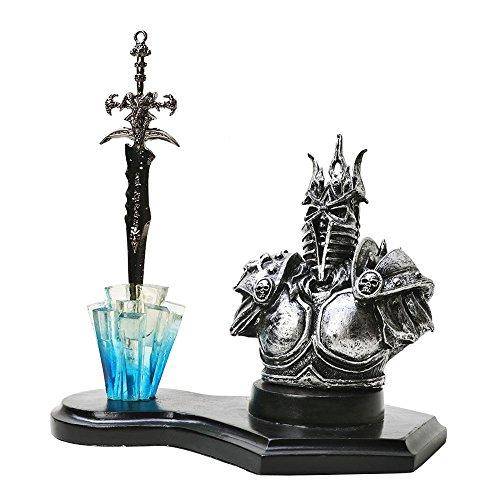 Ritter Paintball (Brieföffner Dämonen Ritter / Warlord Demon Knight mit Tischständer)