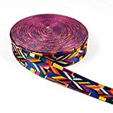 Gurtband/Borte 3,8 cm breit - Boho Style - grafisches