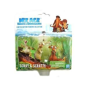 Ice Age 3 Limited Collector's Figuren Scrat & Scratte