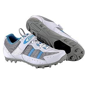 Zapatillas de Ciclismo para Pedales automaticos SPD de Bicicleta de montaña MTB y Trekking Talla 41 3716