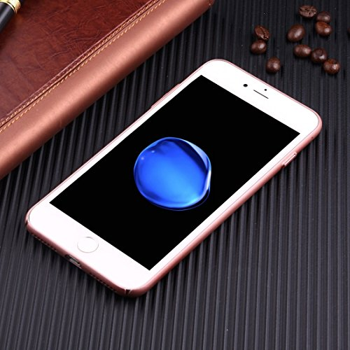 BING per iPhone 7Plus leggero traspirante Full Coverage PC Case antiurto telefono della copertura posteriore Bing Pink