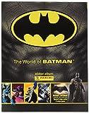 Panini Die Welt der Batman Aufkleber Collection Starter Pack–Album und 31Aufkleber