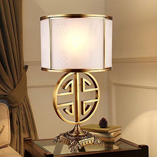 JIEJING Retro Ojo Aprendizaje Lámparas de mesa,Dormitorio Lámpara ...