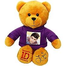 One Direction 52394-6 - Peluche 1D con Foto di Zayn  sulla Maglietta e Autografo sul Piede, 23 cm