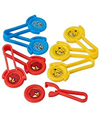 American Greetings Angry Birds Disc Shooters (8 Count)