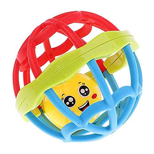 xnbnsj Baby Rassel Hand Fang Ball Ball Spielzeug aus weichem Gummi