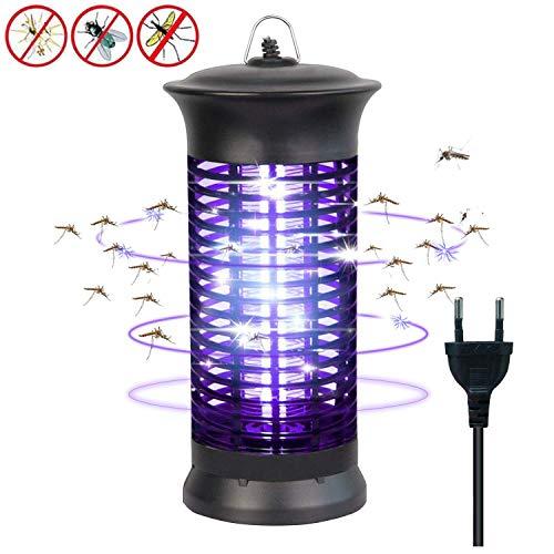 bldberry Insektenvernichter Elektrisch mit UV-Licht Elektronischer Mückenschutz Gegen Mücken, Fliegen, Moskitos Insektenabwehr für -